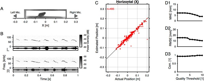 High-precision spatial localization of mouse vocalizations