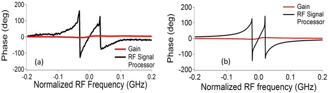High-resolution, on-chip RF photonic signal processor using