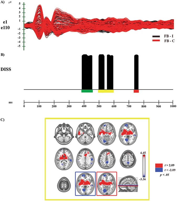 """Embodied Body Language"""": an electrical neuroimaging study"""
