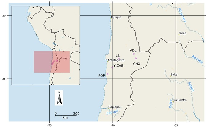 Actinobacterial Rare Biospheres And Dark Matter Revealed In Habitats Of The Chilean Atacama Desert Scientific Reports The atacama desert of chile covers the northern third of the country stretching more than 600 miles (1,000km), and straddles the southern border of peru. habitats of the chilean atacama desert