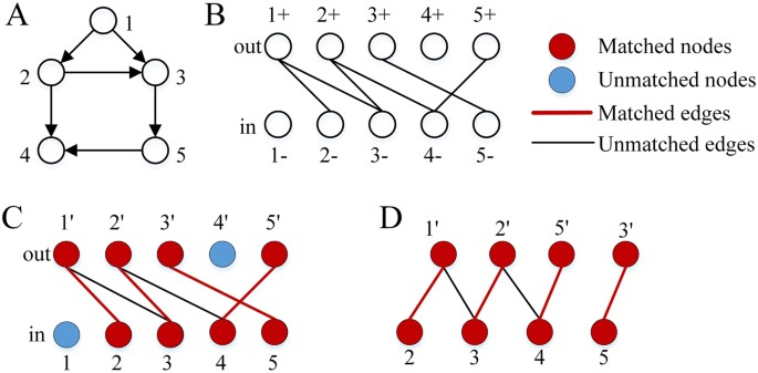 An efficient algorithm for finding all possible input nodes