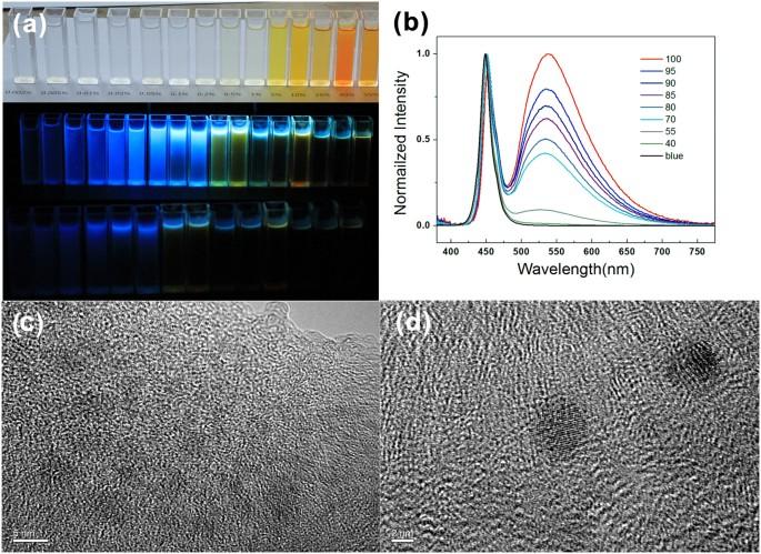White Light-Emitting Diodes Based on Individual Polymerized