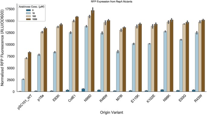 Isolation and characterization of novel mutations in the