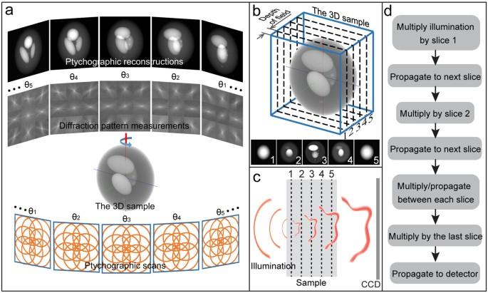 Multi-slice ptychographic tomography | Scientific Reports