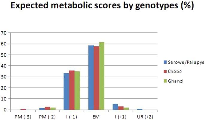 Human cytochrome P450 2B6 genetic variability in Botswana: a
