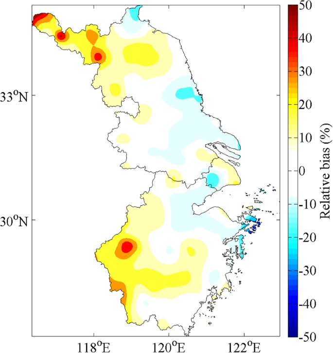Evaluation of TRMM 3B43 data over the Yangtze River Delta of China