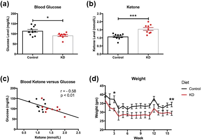 Ketogenic diet enhances neurovascular function with altered