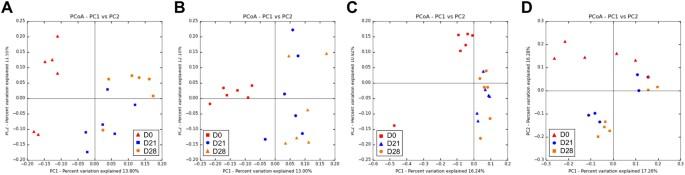 Transplantation of human microbiota into conventional mice