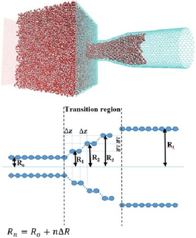 Nanojunction Effects on Water Flow in Carbon Nanotubes