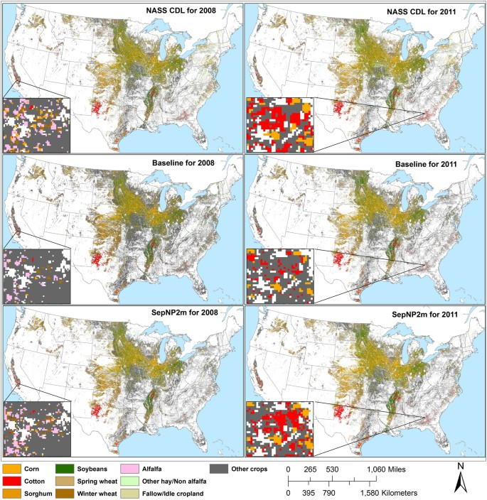 Rapid Crop Cover Mapping for the Conterminous United States