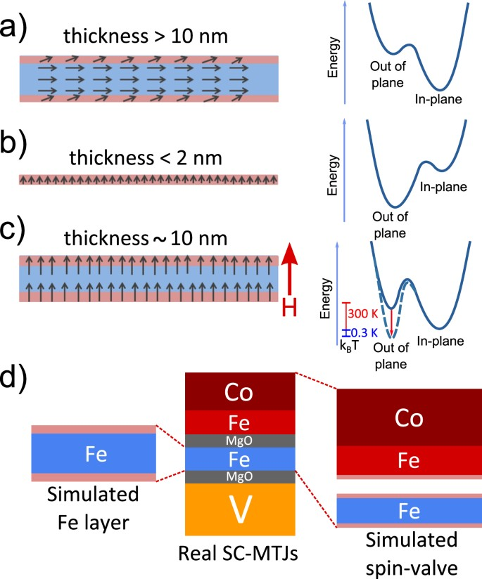 Symmetry broken spin reorientation transition in epitaxial