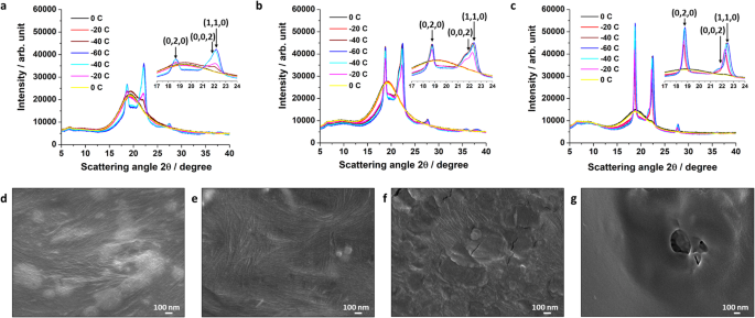 Giant reversible elongation upon cooling and contraction