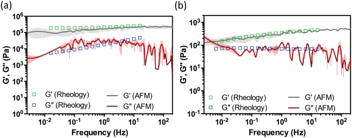 A one-step procedure to probe the viscoelastic properties of cells