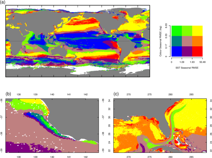 Global patterns of change and variation in sea surface