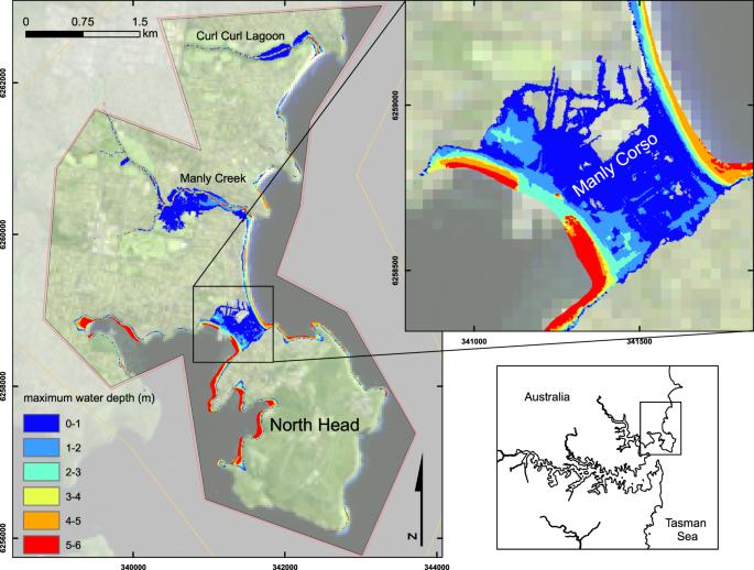 The Tsunami Threat to Sydney Harbour, Australia: Modelling