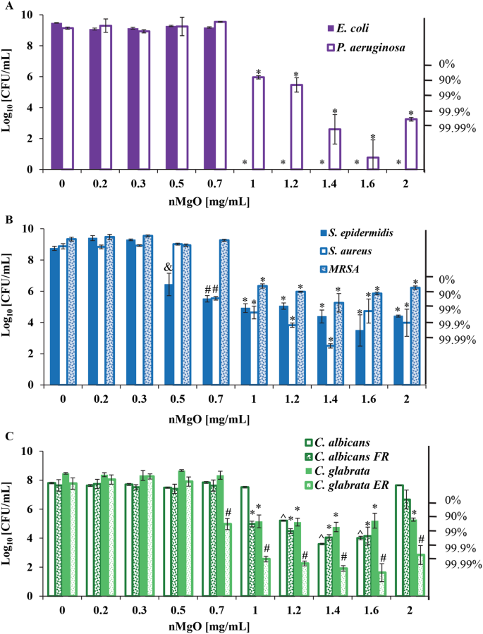 Antimicrobial Activities and Mechanisms of Magnesium Oxide
