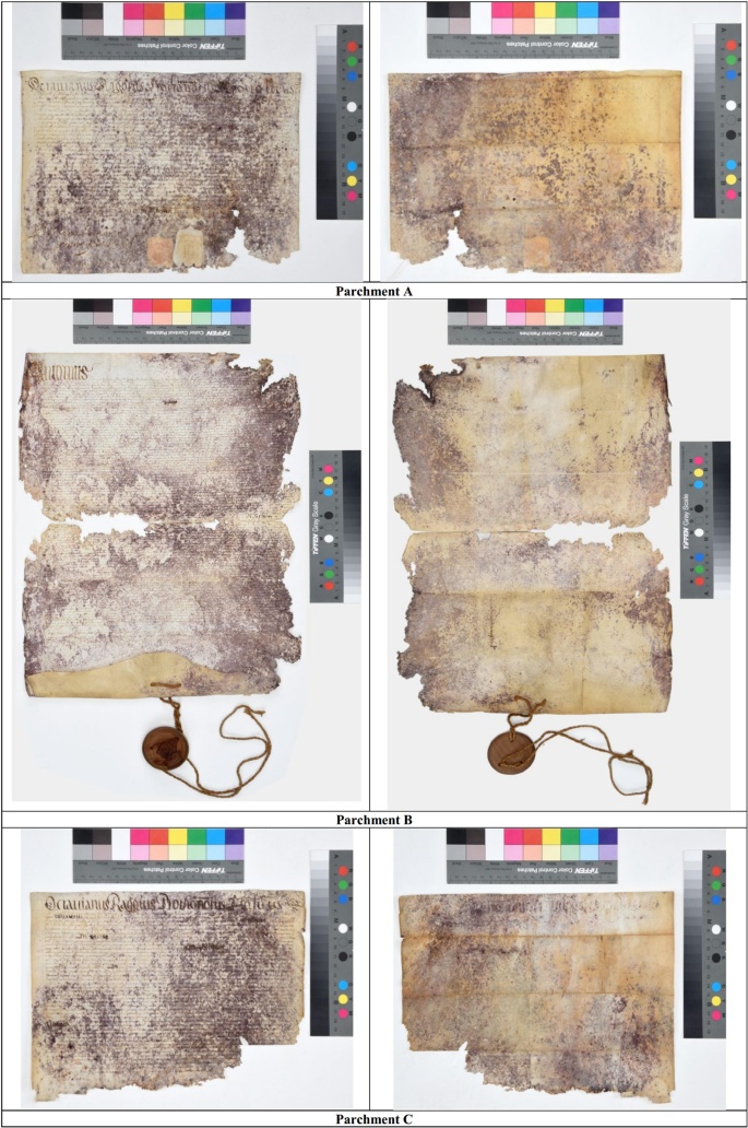 Three ancient documents solve the jigsaw of the parchment