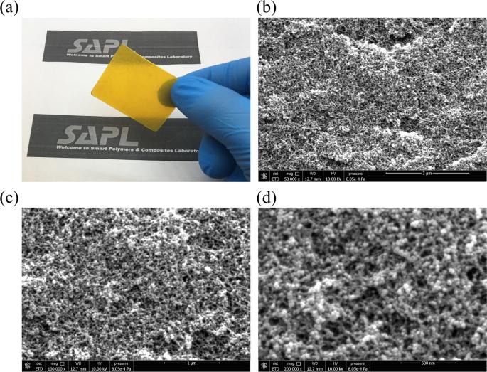 A High Performance Triboelectric Nanogenerator Using Porous