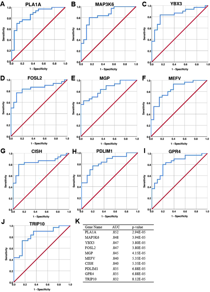Differentially expressed gene networks, biomarkers, long noncoding
