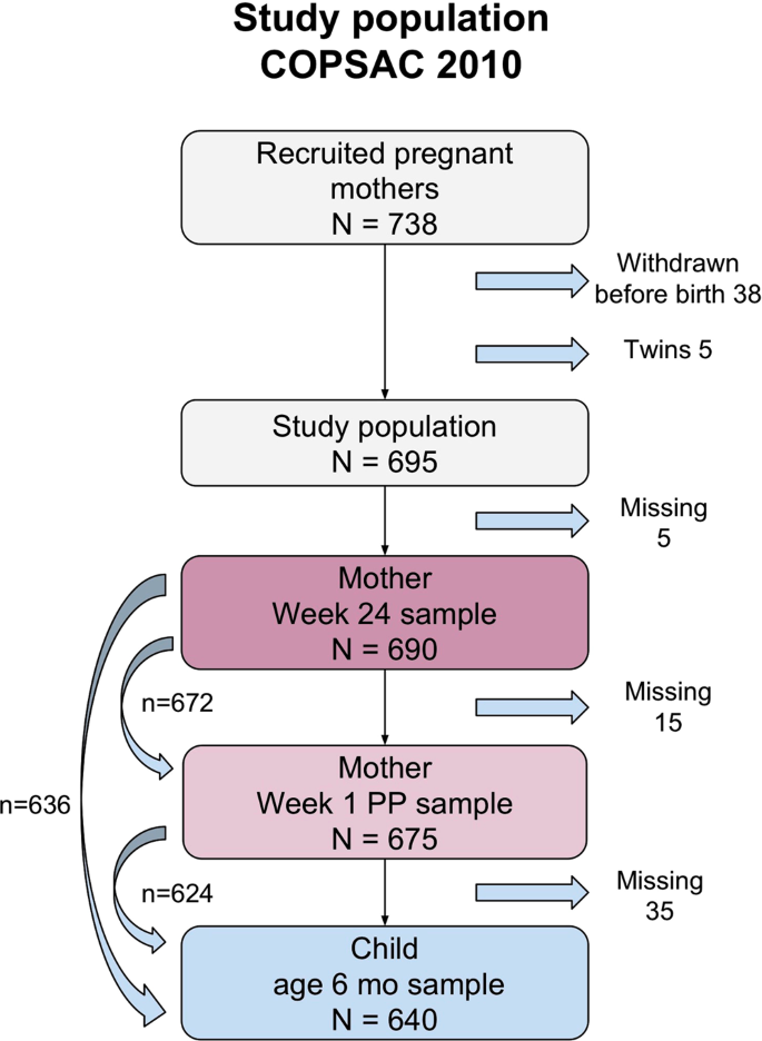 Levels of Systemic Low-grade Inflammation in Pregnant Mothers and