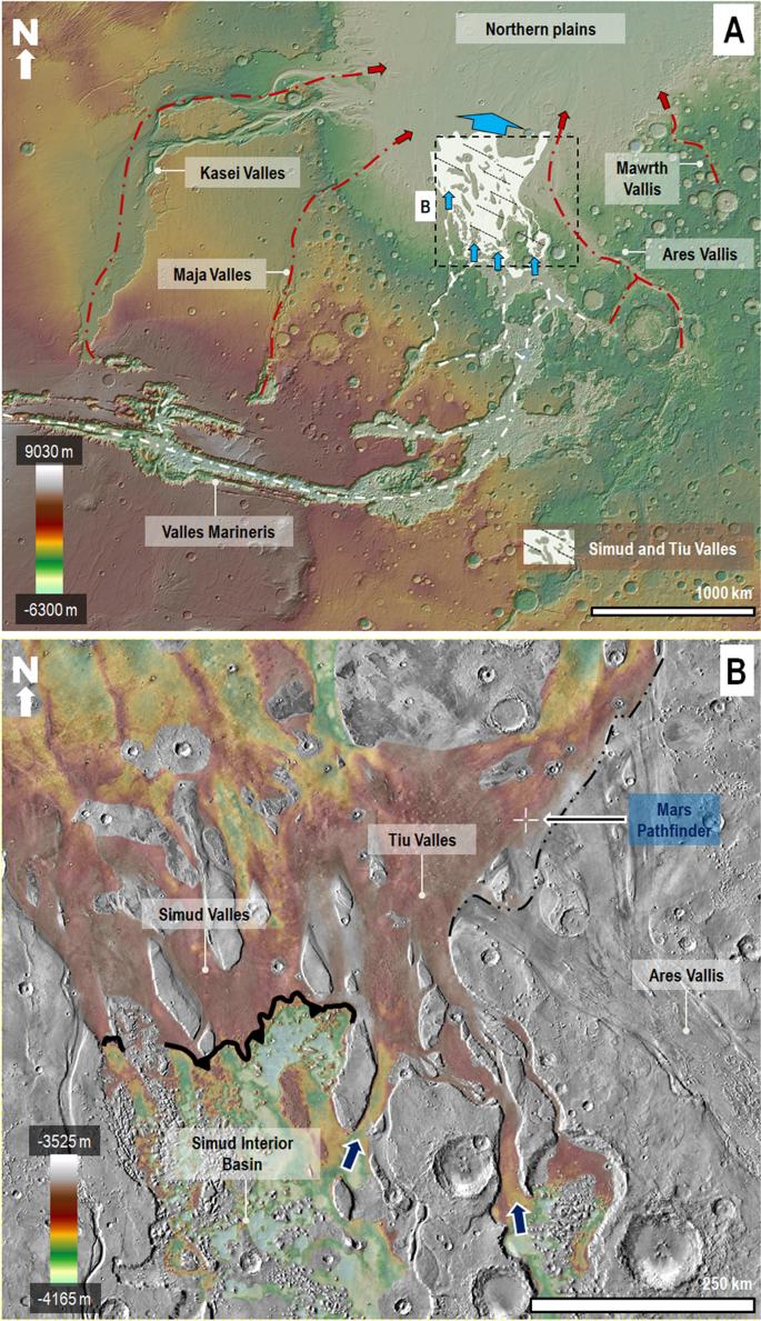 The 1997 Mars Pathfinder Spacecraft Landing Site: Spillover Deposits f