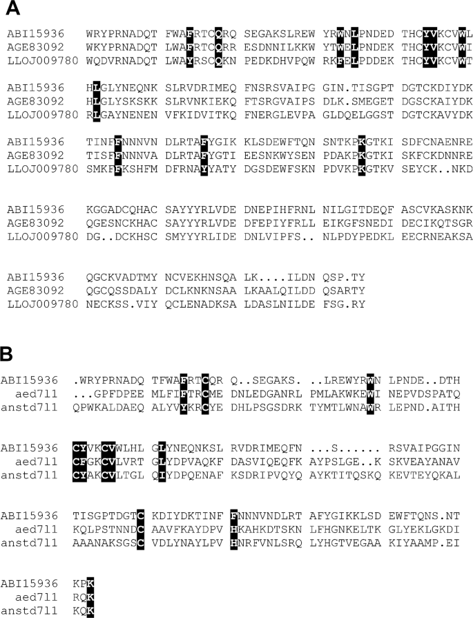Functional and structural similarities of D7 proteins in the