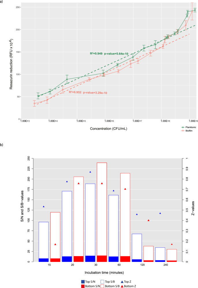 Simple fluorometric-based assay of antibiotic effectiveness