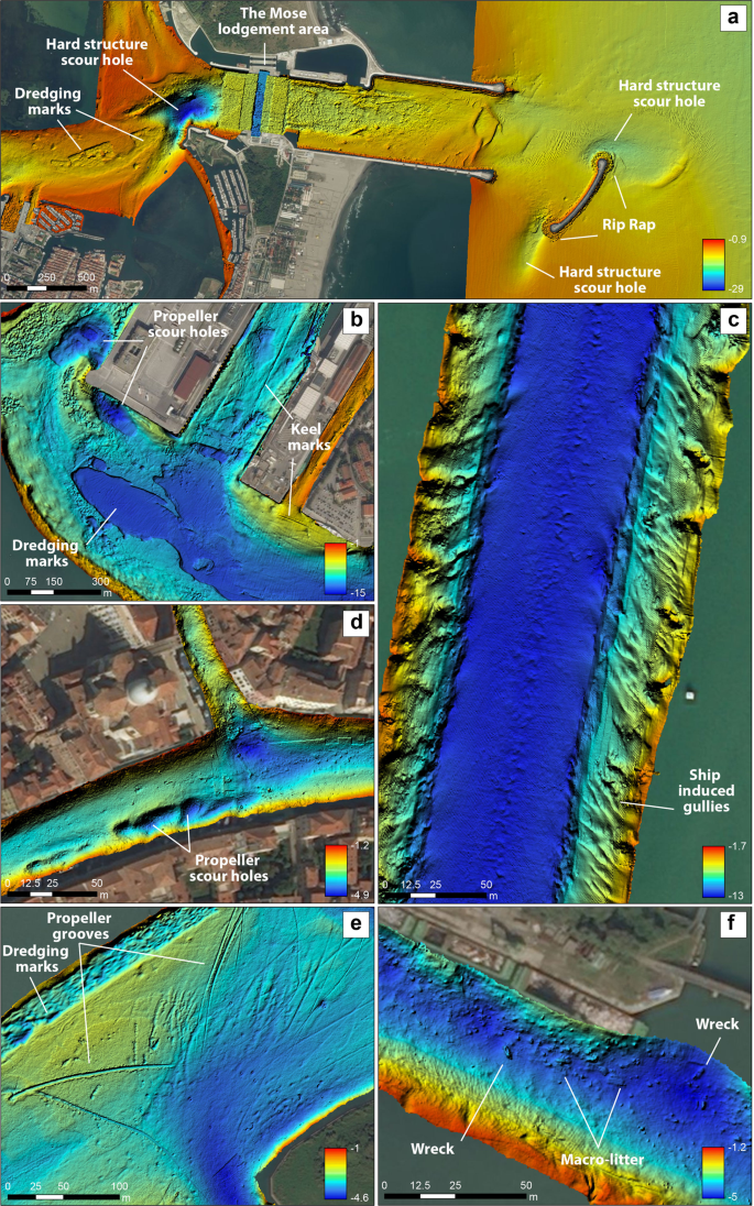 Assessing the human footprint on the sea-floor of coastal systems