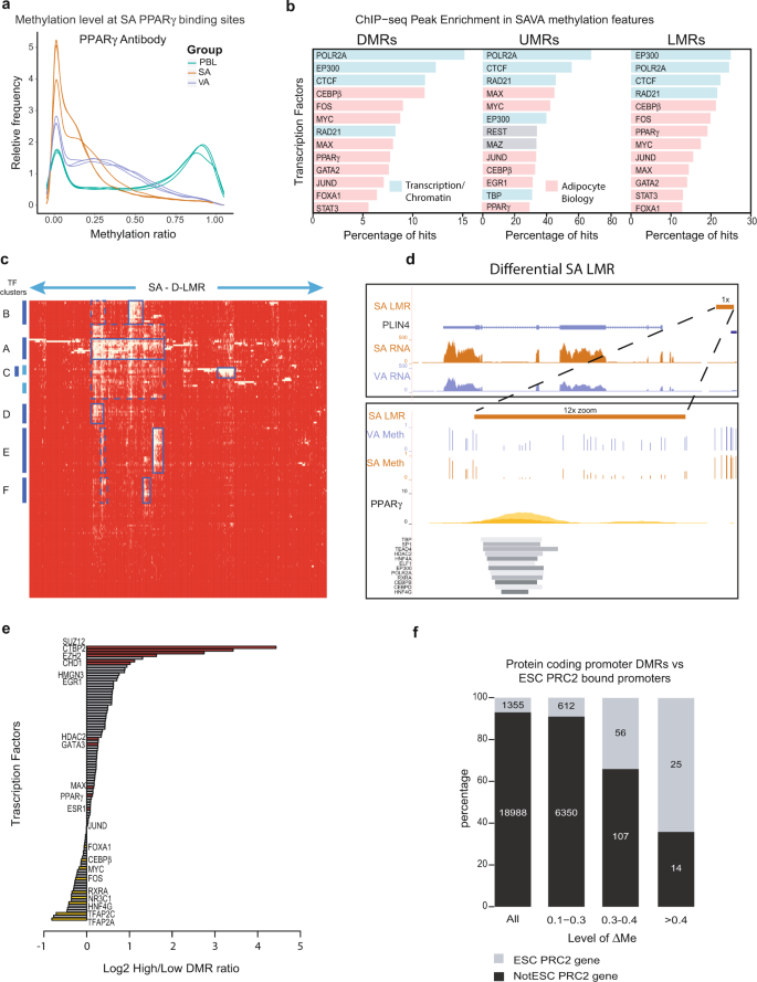 Methylome and transcriptome maps of human visceral and