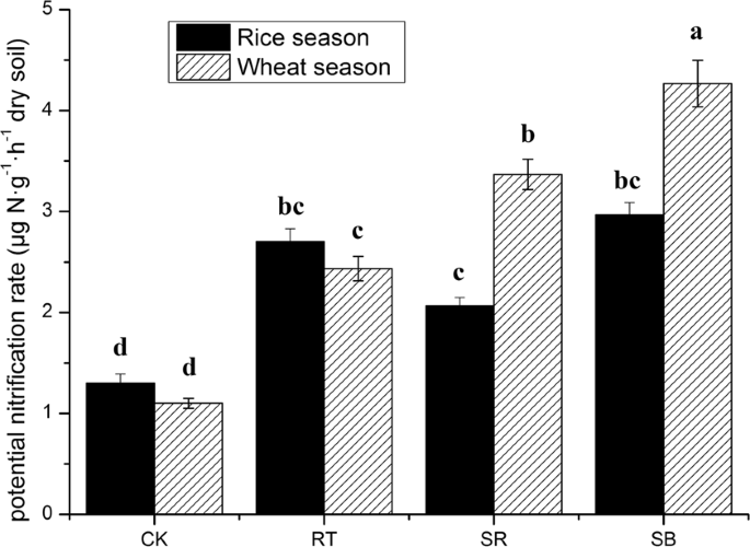 Effect of Straw and Straw Biochar on the Community Structure