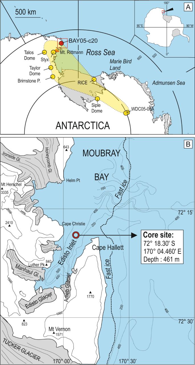 First marine cryptotephra in Antarctica found in sediments of the west