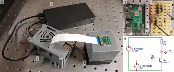 3D-printable portable open-source platform for low-cost lens-less