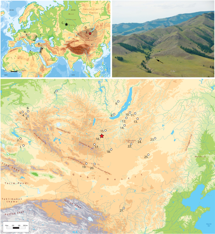 The Northern Route for Human dispersal in Central and Northeast Asia: