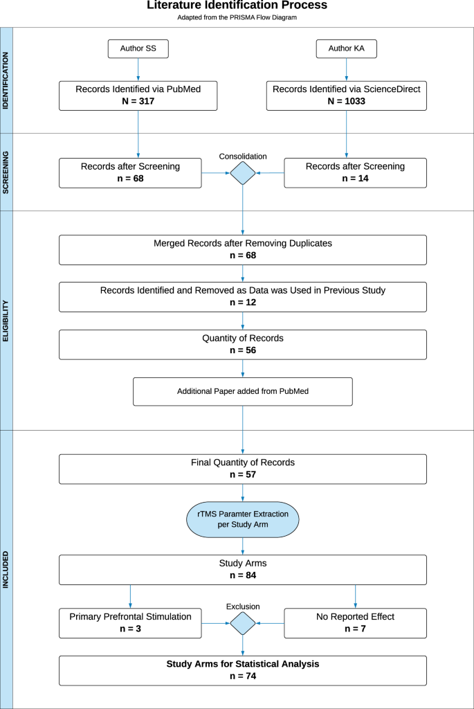 41598 2019 48750 Fig1 HTML - RTMS parameters in tinnitus trials: a systematic review