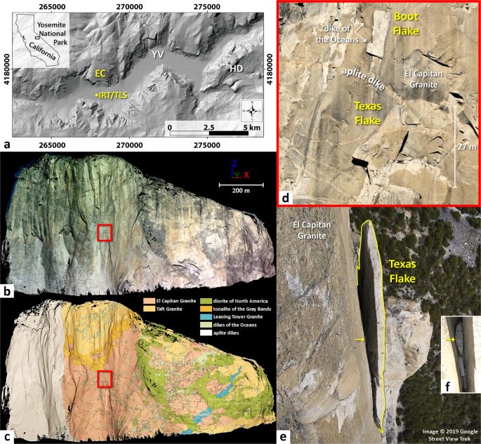 Detection Of Rock Bridges By Infrared Thermal Imaging And Modeling Scientific Reports