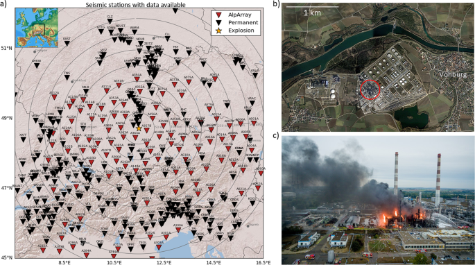 Rich observations of local and regional infrasound phases made by the