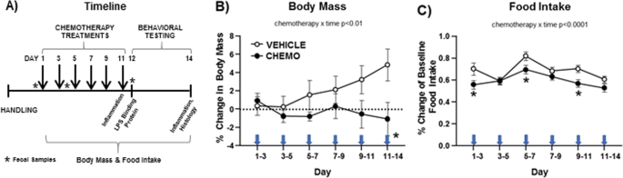 Chemotherapy-induced neuroinflammation is associated with disrupted co
