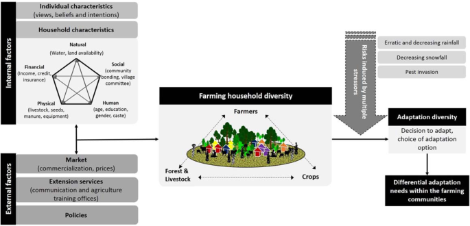 Farmer Typology To Understand Differentiated Climate Change Adaptation In Himalaya Scientific Reports