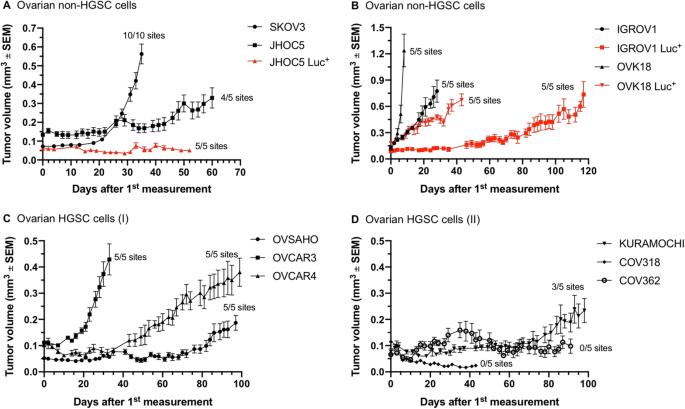ovarian cancer xenograft mouse model gif de paraziți kili