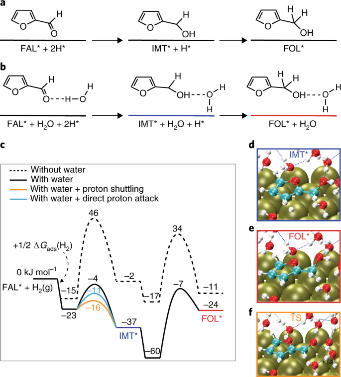 Solvent-mediated charge separation drives alternative hydrogenation