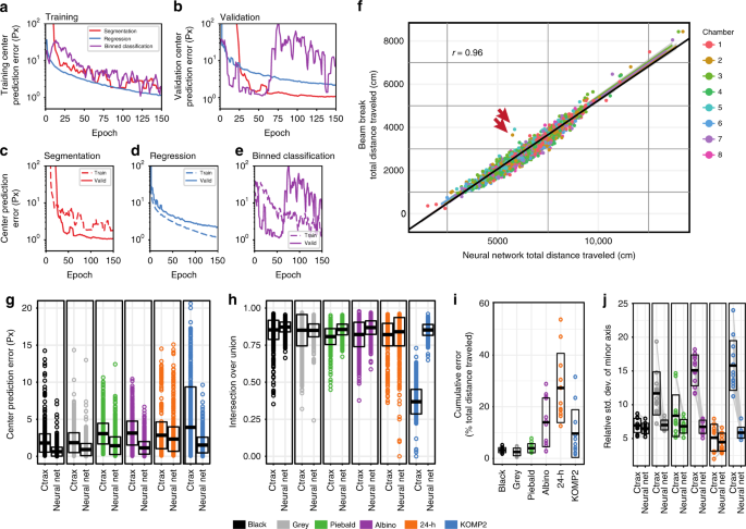 Robust mouse tracking in complex environments using neural networks