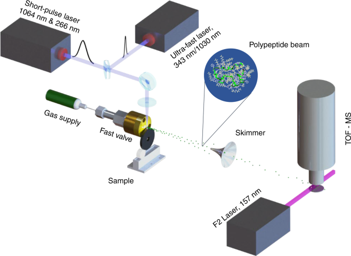 Pushing the mass limit for intact launch and photoionization of