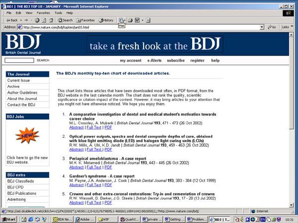 News | British Dental Journal