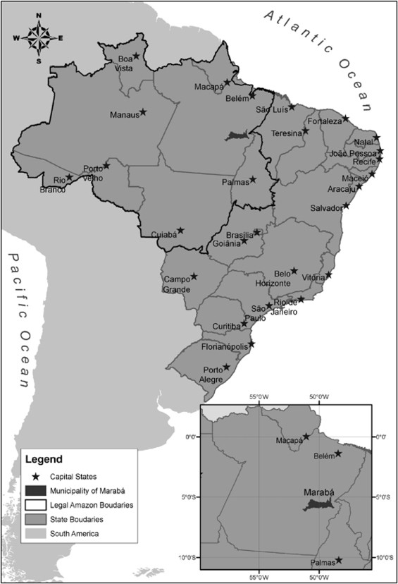 Urban design in Western Amazonian cities – The case of Marab ...