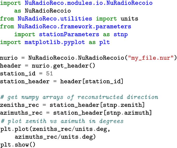 NuRadioReco: a reconstruction framework for radio neutrino ...