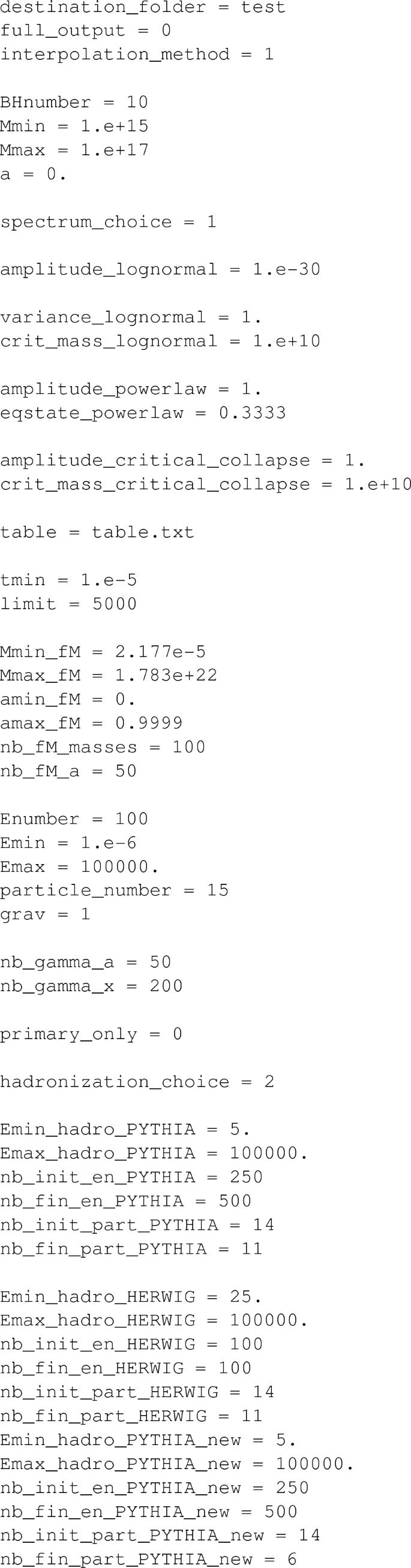 BlackHawk: a public code for calculating the Hawking evaporation ...