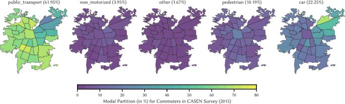 Inferring modes of transportation using mobile phone data   EPJ Data