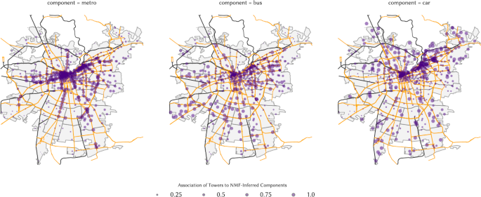 Inferring modes of transportation using mobile phone data | EPJ Data