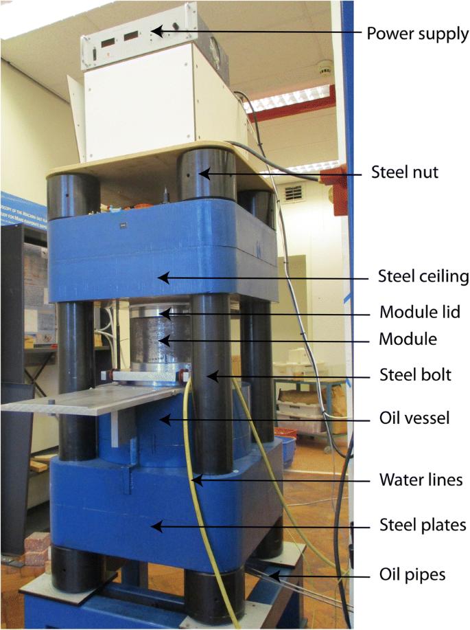 Calibration of a multi-anvil high-pressure apparatus to