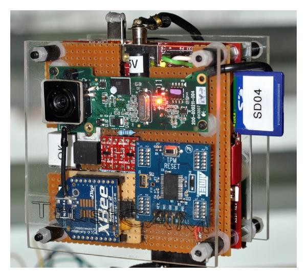 Securing Embedded Smart Cameras with Trusted Computing